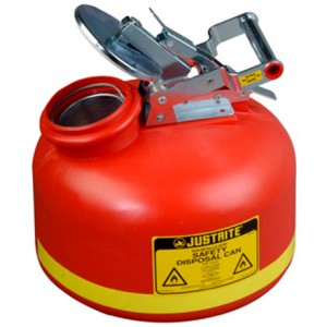 Justrite 14762 Safety Can For Liquid Disposal S S