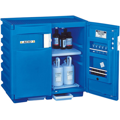 Justrite 24160 Undercounter corrosives/acid safety cabinet, 2 ...