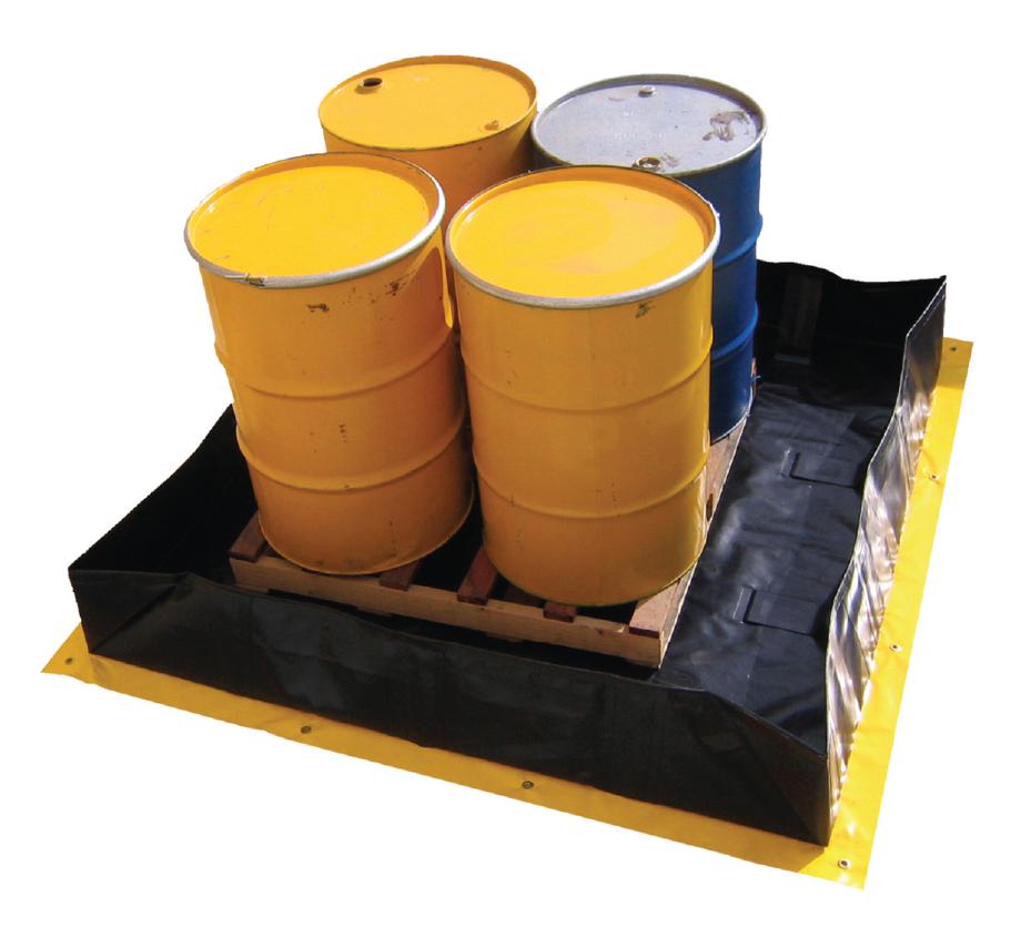 Spill Station Quickbund Portable Bunding Lsh Industrial
