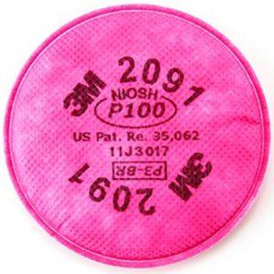 2091 P100 Particulate Filter