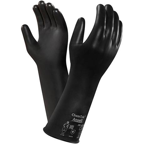 Ansell 38 612 Chemtek Viton Butyl Gloves Lsh Industrial