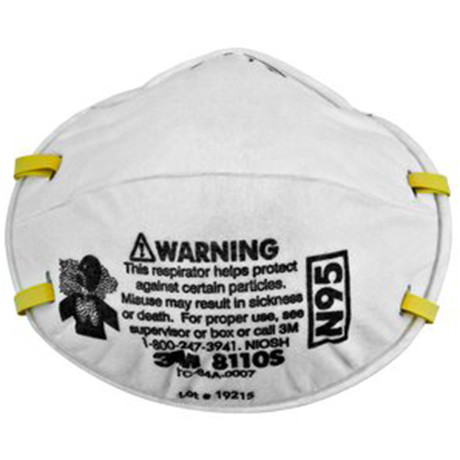Particulate 8110s Industrial Respirator Solutions - N95 Lsh 3m