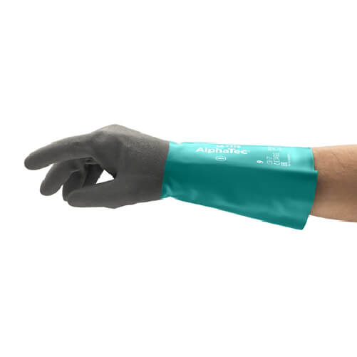 Ansell alphatec-58-535b chemical protective gloves