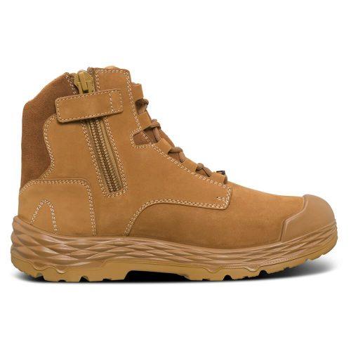 Mack boots zip force side