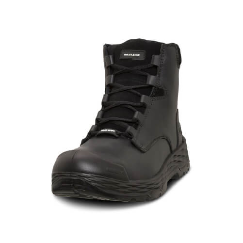 Mack Safety Boots Force- Torque Premium Full Grain Leather