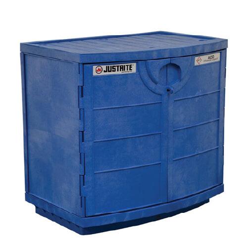 Justrite Polyethylene Corrosives And Acid Cabinet #24180