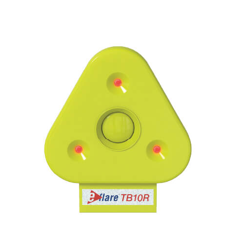 TB10 LED light beacon for safety triangle